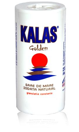 Kalas golden cylindrical salt